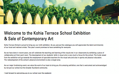 Kohia Terrace School Exhibition