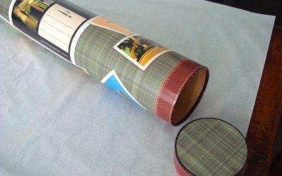 Packaging Tube for Prints