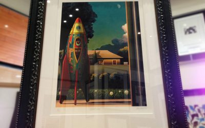 Rocket Man – Framed print available now at Momentum Gallery